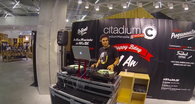 DJ SHUBAK CITADIUM MARSEILLE